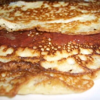 Kokos-Mandel-Pfannkuchen