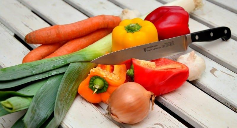 5 am Tag - Wie schafft man so viel Gemüse