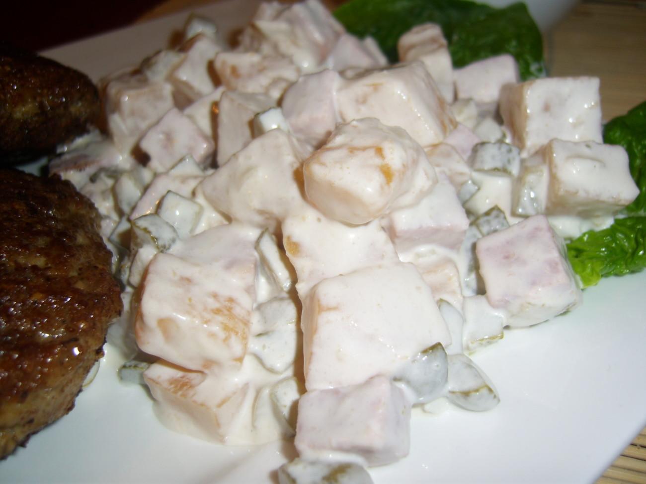 Einfacher Steckrüben – Salat